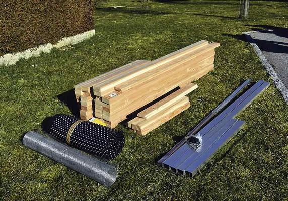 wie wird ein hochbeet gebaut lust aufs land. Black Bedroom Furniture Sets. Home Design Ideas